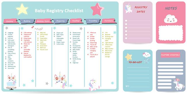 Baby Registry Checklist 02