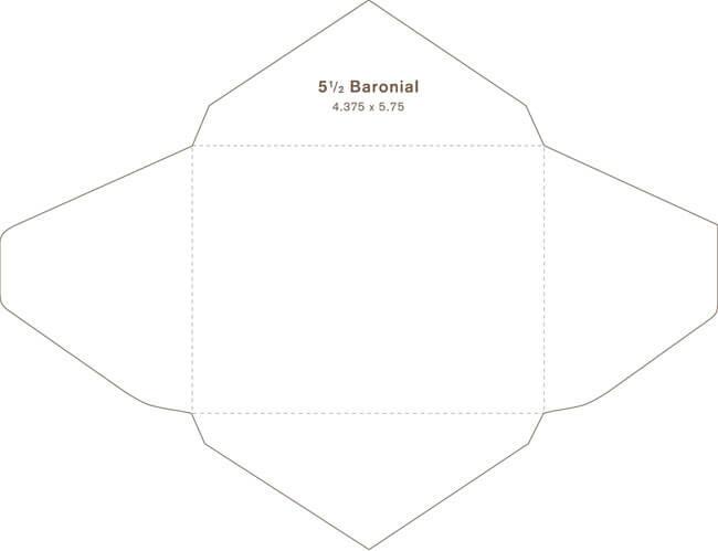 Baronial Envelope 03