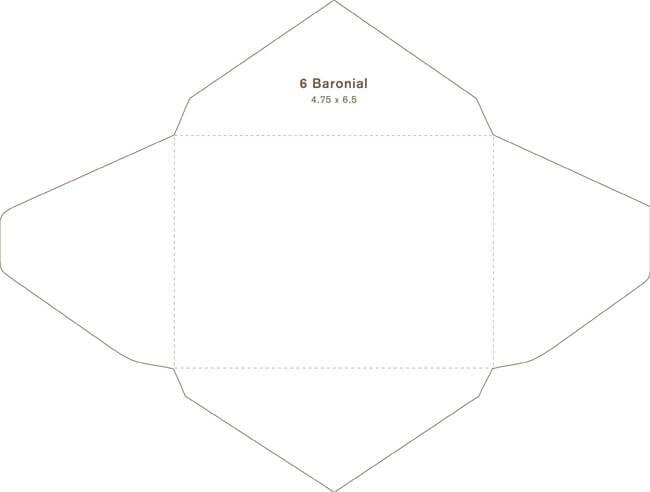 Baronial Envelope 04