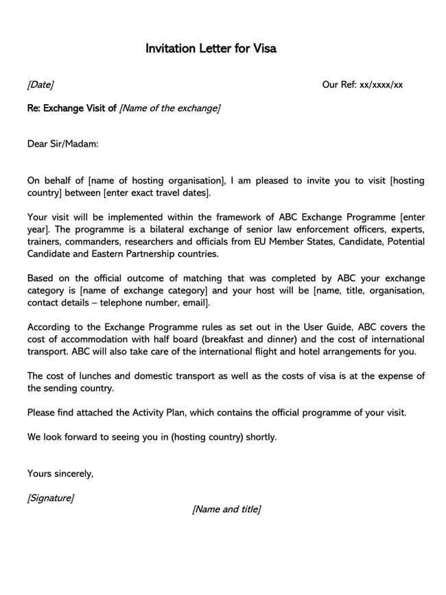 Invitation Letter 02