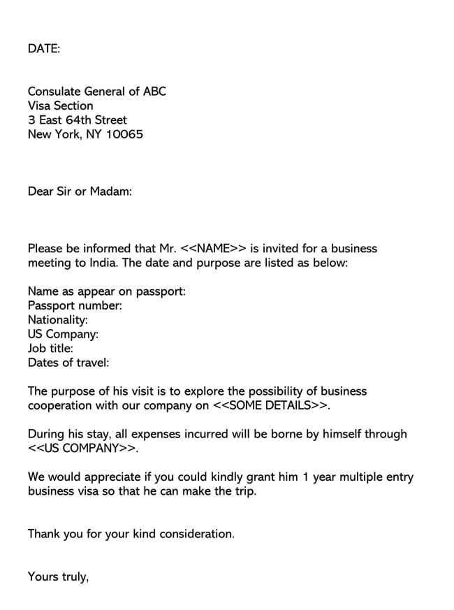 Invitation Letter 06