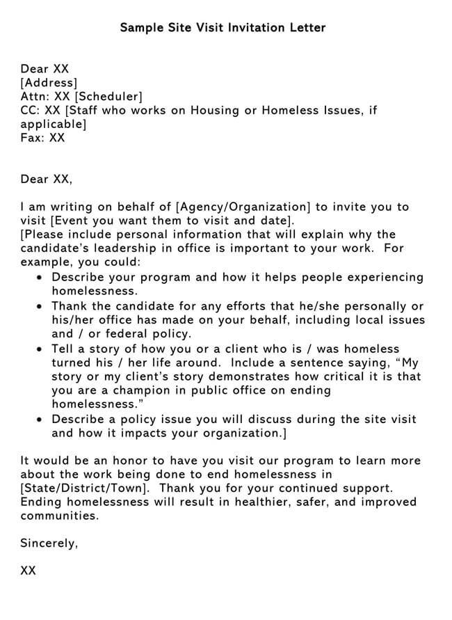 Invitation Letter 15