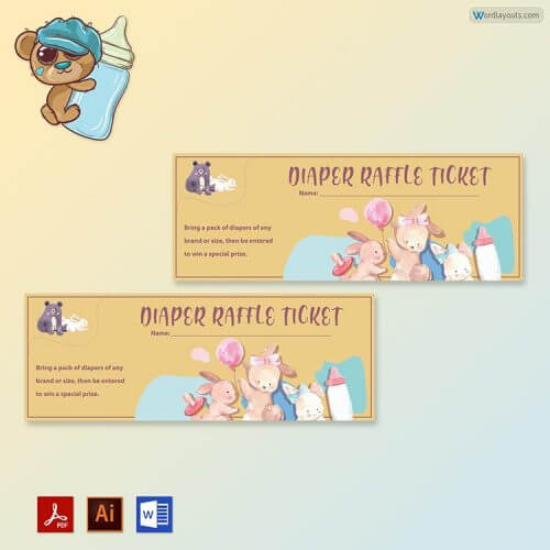 Raffle Ticket Samples