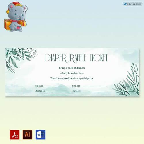 Free Diaper Raffle Tickets
