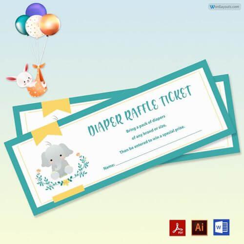 Raffle Ticket Free