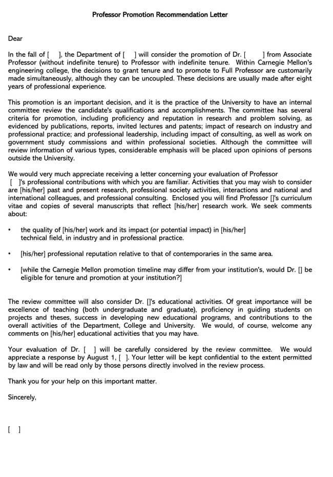 Promotion Request Letter 13