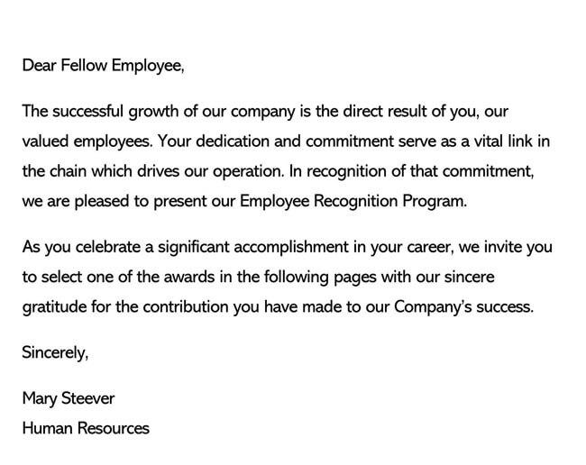 Recognition Letter for Dedication 02