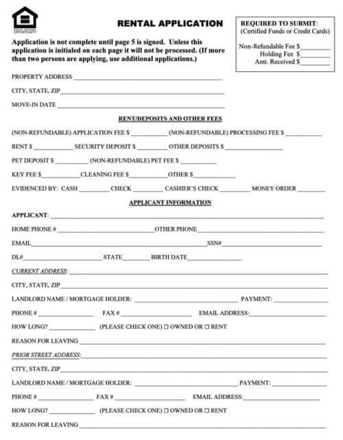 Association-of-Realtors-Rental-Application
