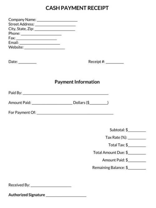 Cash-Payment-Receipt-Template