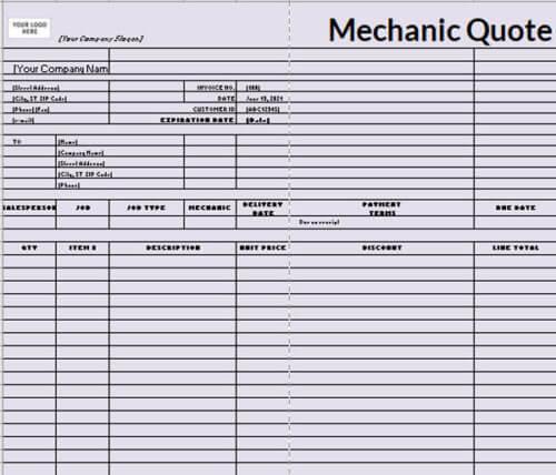 Mechanic-Quote