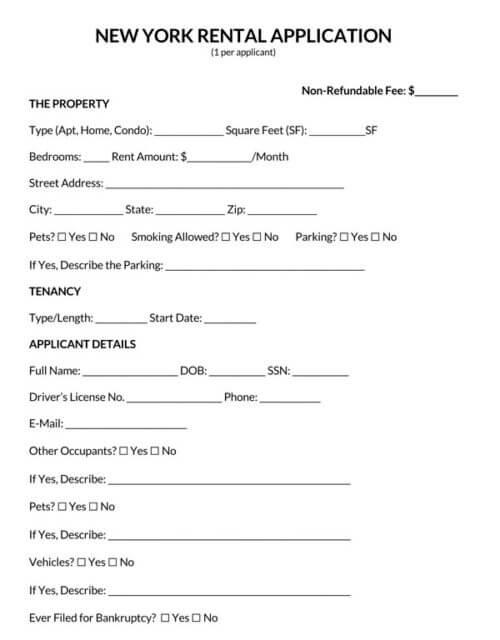 New-York-Rental-Application