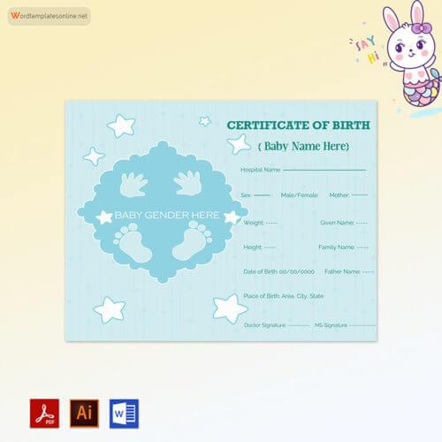 Free Birth Certificate