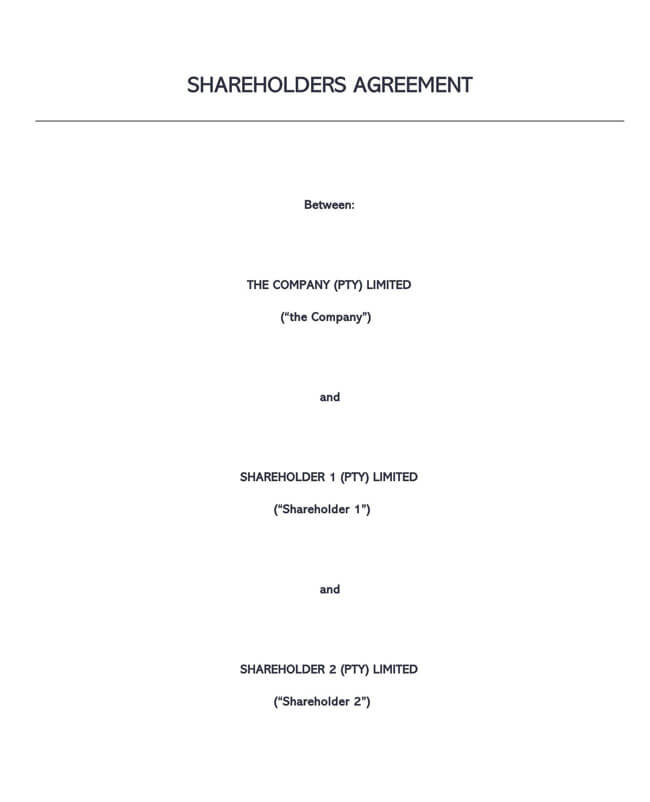 Stock Purchase Agreement Templates 02