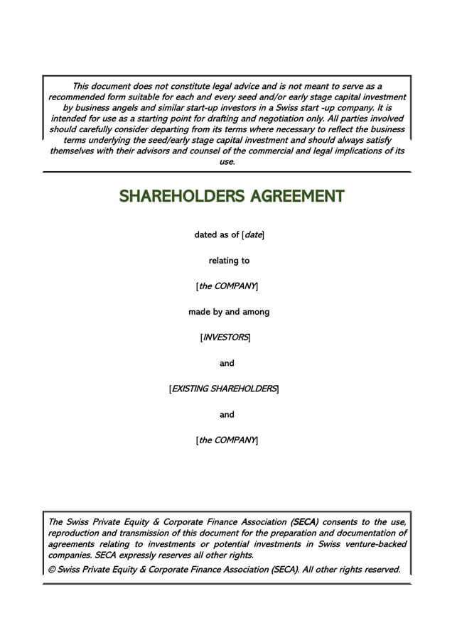 Stock Purchase Agreement Templates 10