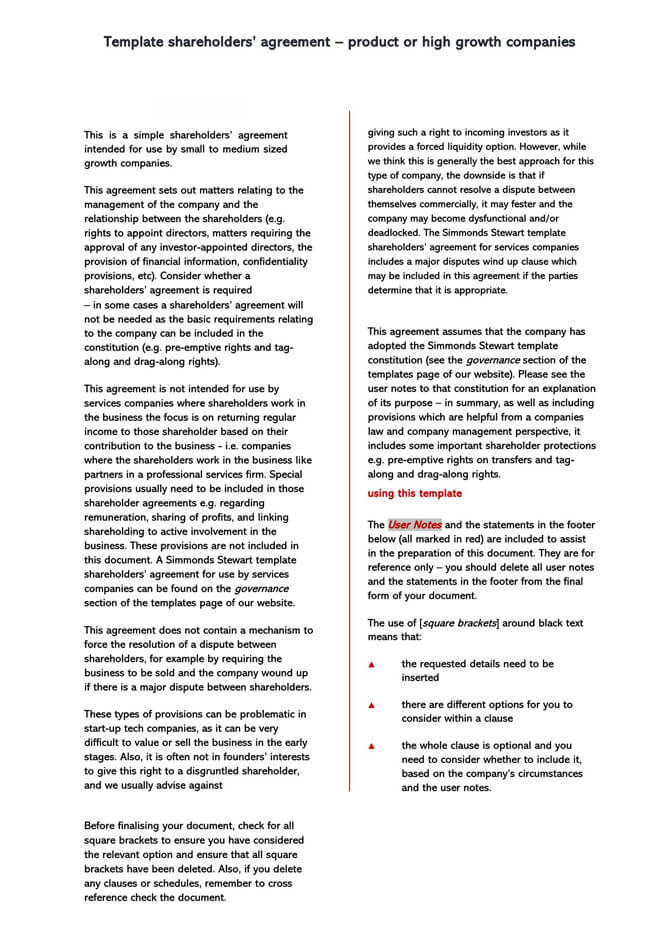 Stock Purchase Agreement Templates 12