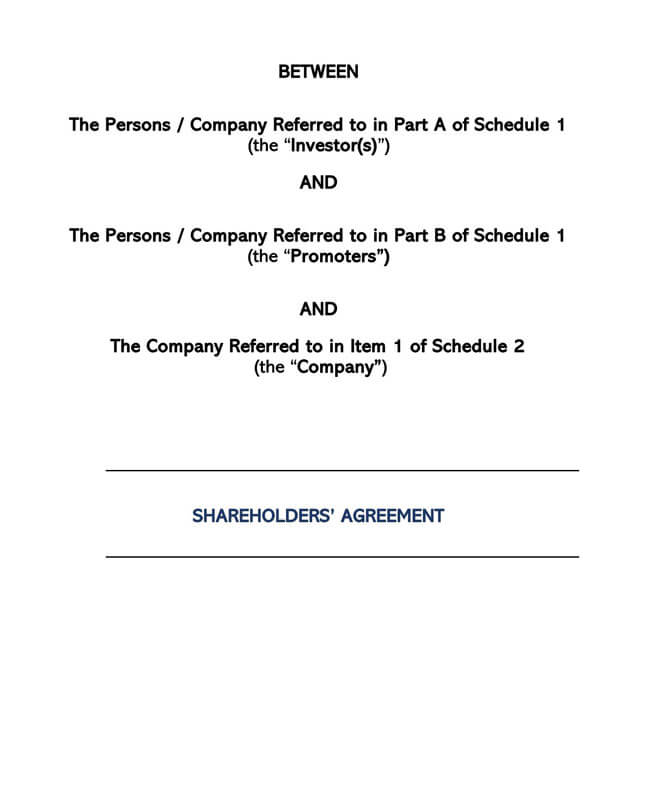 Stock Purchase Agreement Templates 14