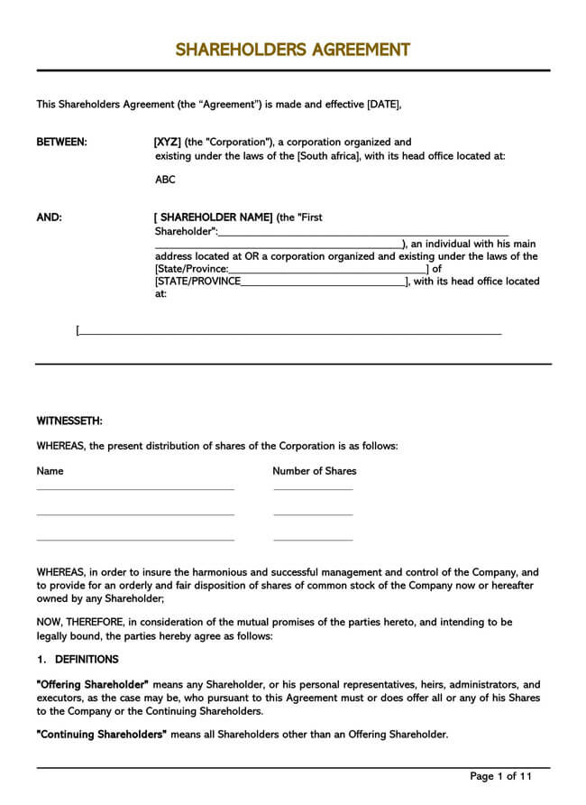 Stock Purchase Agreement Templates 16