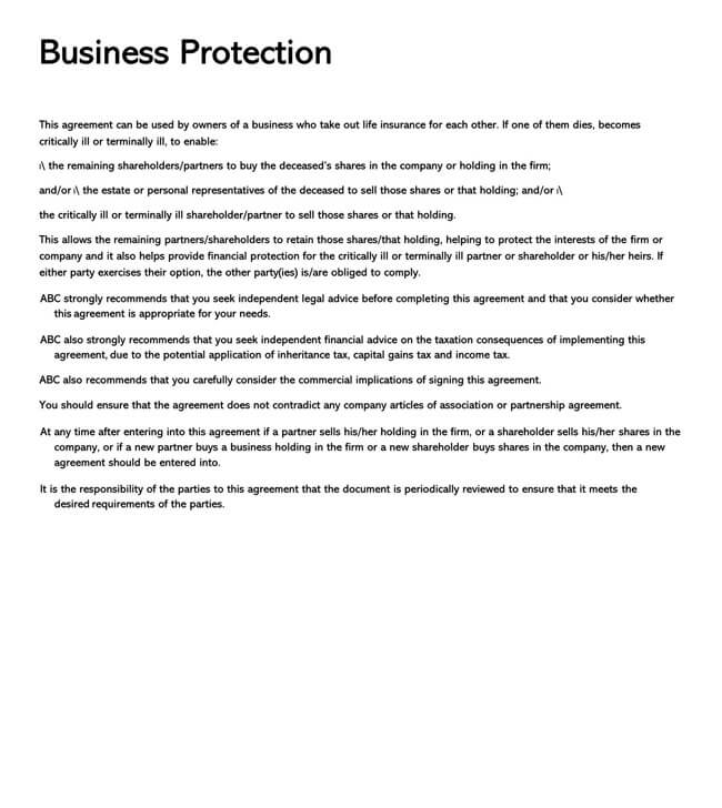 Stock Purchase Agreement Templates 17