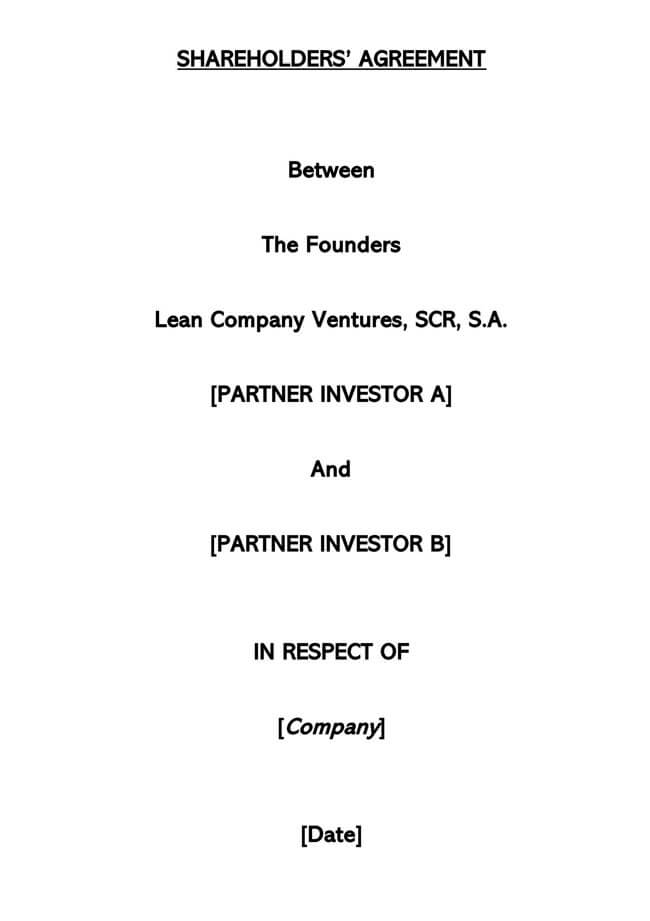 Stock Purchase Agreement Templates 20