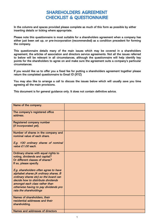 Stock Purchase Agreement Templates 23