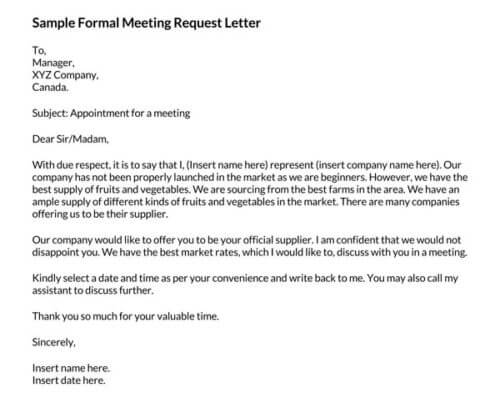 Sample-Formal-Meeting-Request-Letter