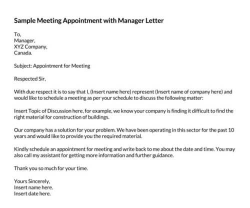 Sample-Meeting-Appointment-with-Manager-Letter