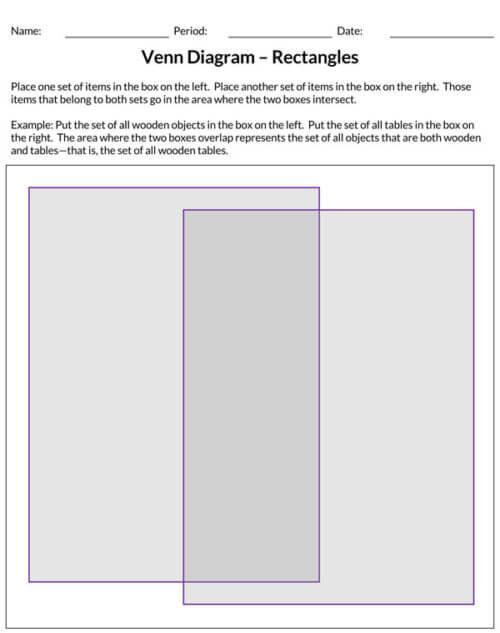 free venn diagram template editable word