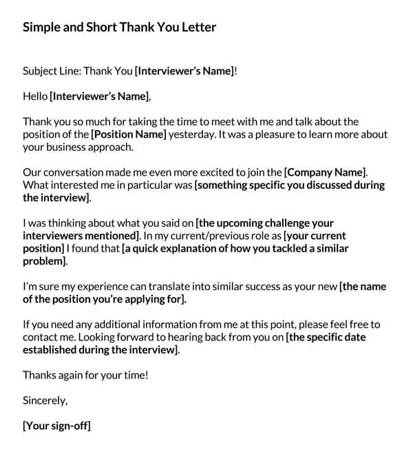 Simple-and-Short-Thank-You-Letter