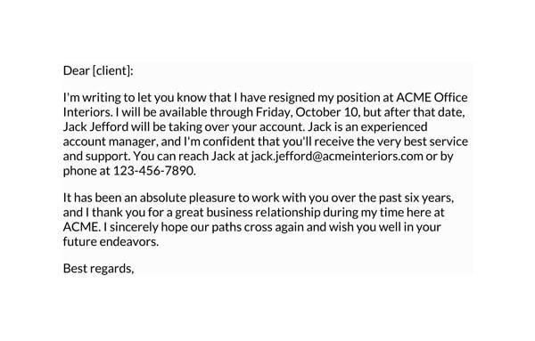 Client-notification-resignation-letter