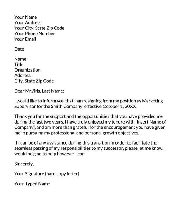 Formal-Resignation-Letter