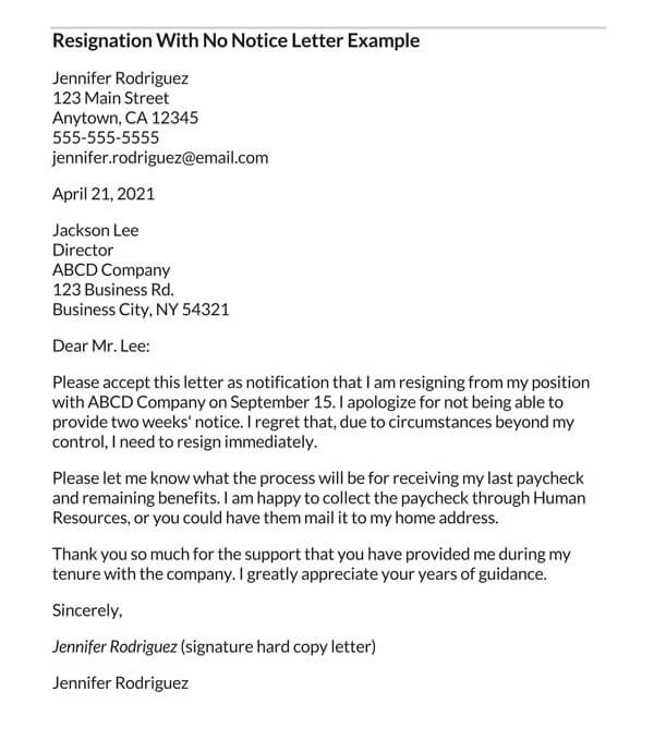 Resignation-Letter-With-No-Notice