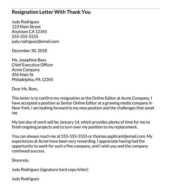 Resignation-Letter-With-Thank-You