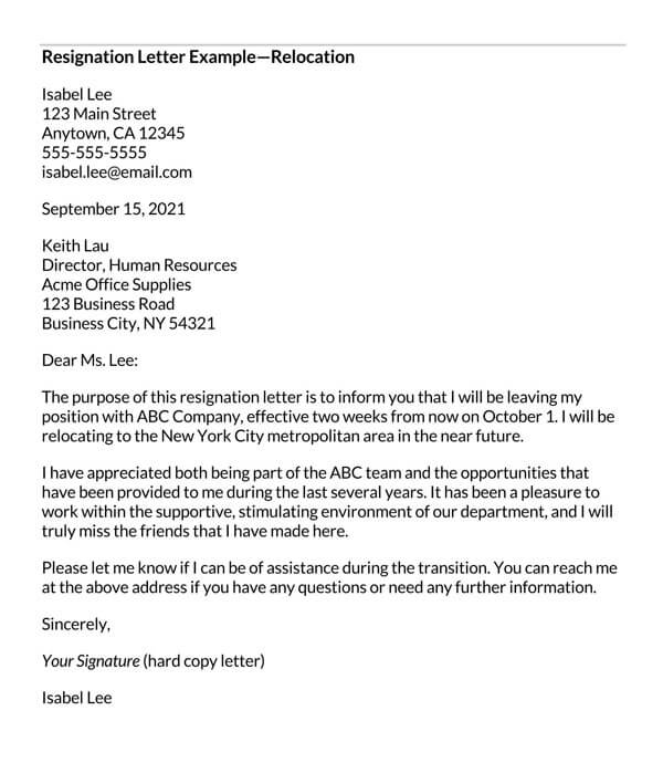 Resignation-Letter-due-to-Reloaction