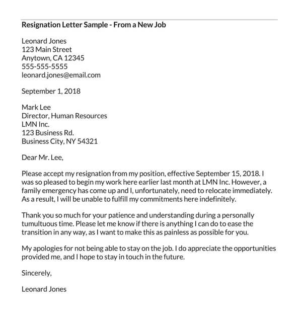 Resignation-Letter-from-a-new-job