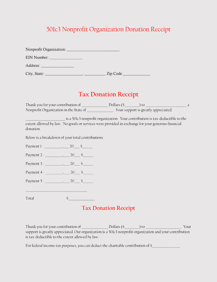 Donation Template Free from www.wordtemplatesonline.net