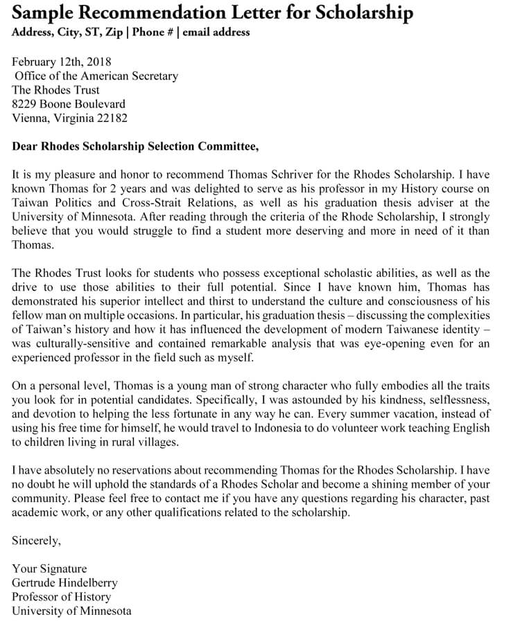 Academic Recommendation Letter (20+ Sample Letters & Templates)