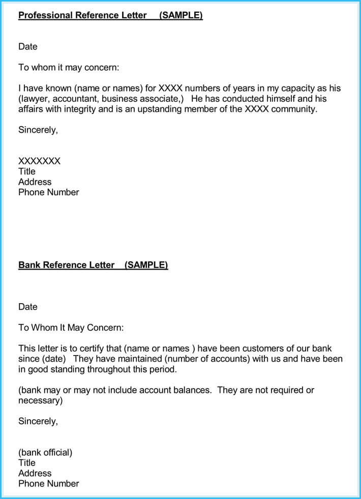 Accountant Reference Letter For Assistant  Reference Letter