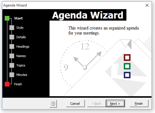 Agenda Maker for Microsoft Word