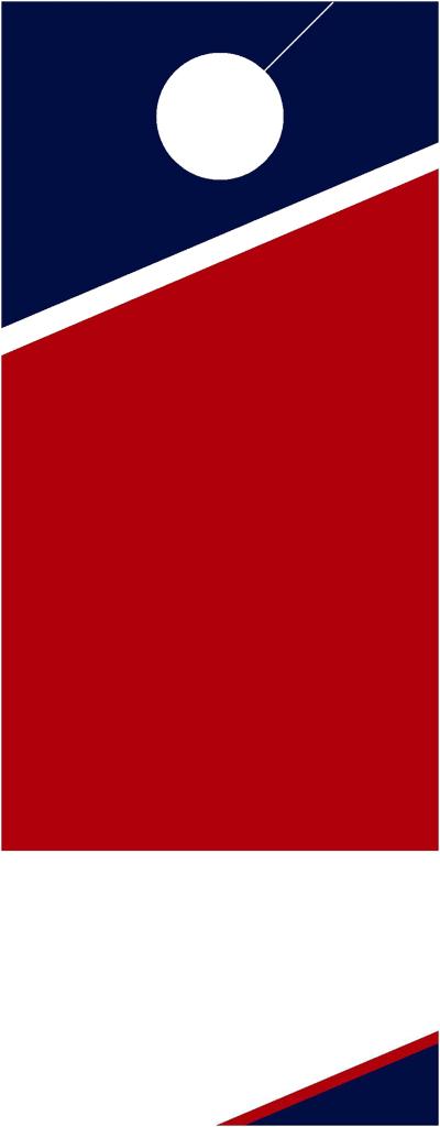 blank door hanger template