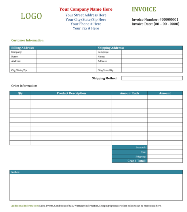 How to make out invoice joy studio design gallery best for Invoice template maker