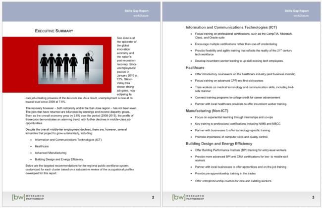 career gap analysis examples