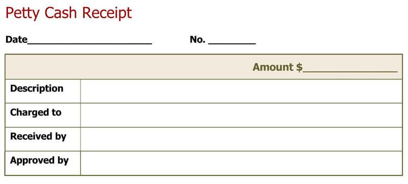 Cash Receipt Template 04