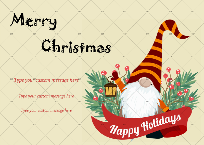 Christmas Card Email Template Free