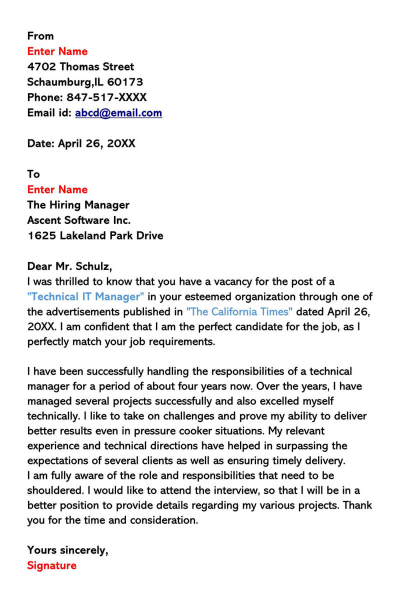 Cover Letter For Museum Job from www.wordtemplatesonline.net