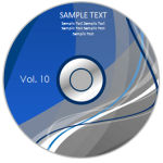 DVD Label Template Feature Image
