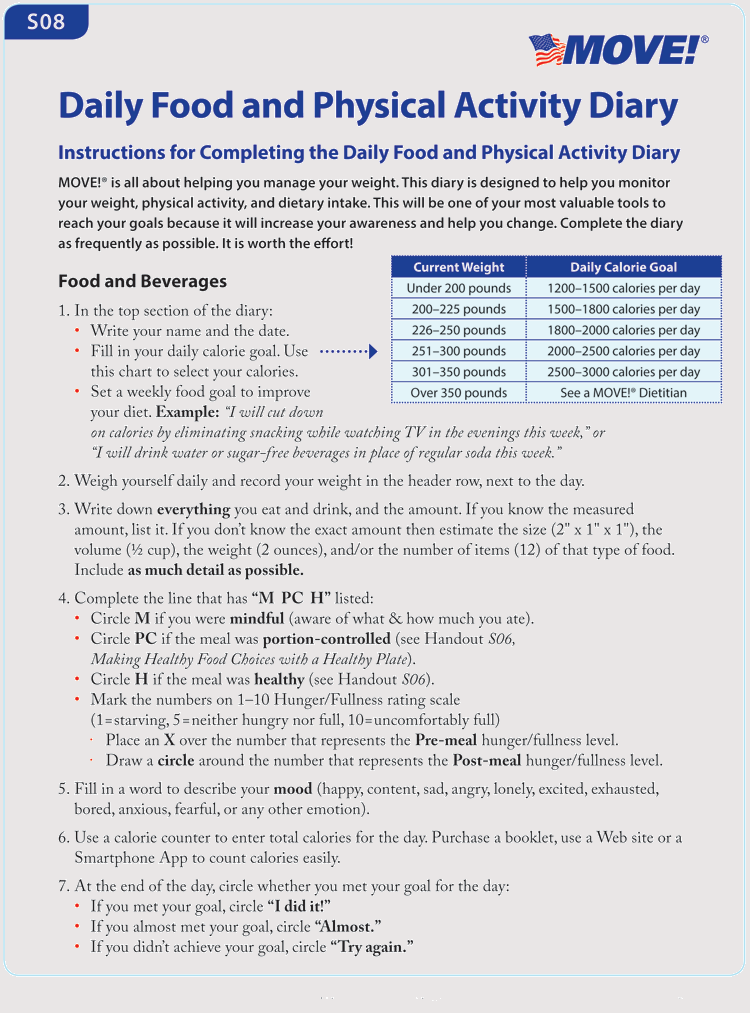 Food Journal Template Pdf