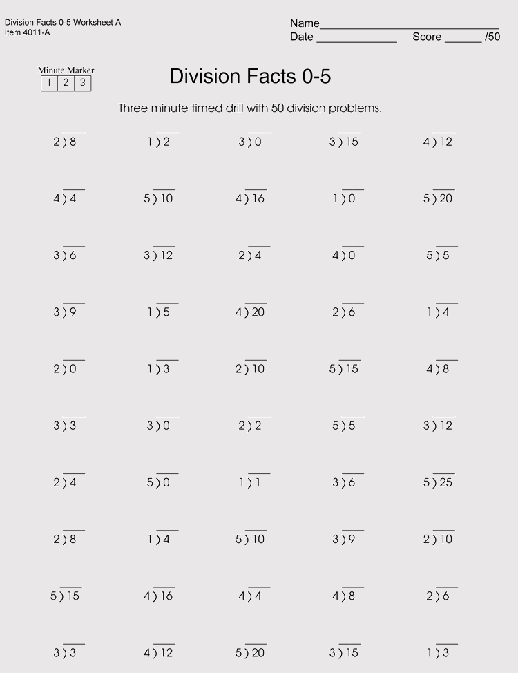 printable division worksheets for grade 4 6 free downloads. Black Bedroom Furniture Sets. Home Design Ideas