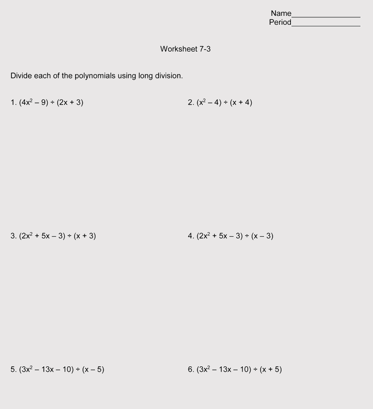 Printable Division Worksheets For Grade 46 Free Downloads. Division Worksheets Grade 6. Worksheet. Long Hand Division Worksheet At Mspartners.co