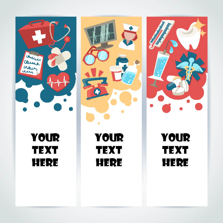 Doctor themed Bookmark Template PSD