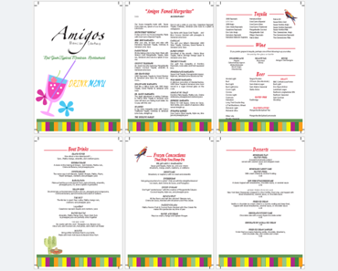 Menu templates templates for microsoft word for Drink menu template microsoft word